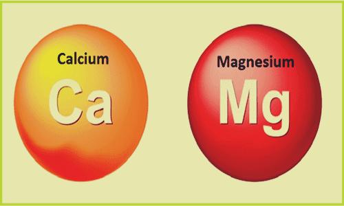 manque de calcium et de magnésium