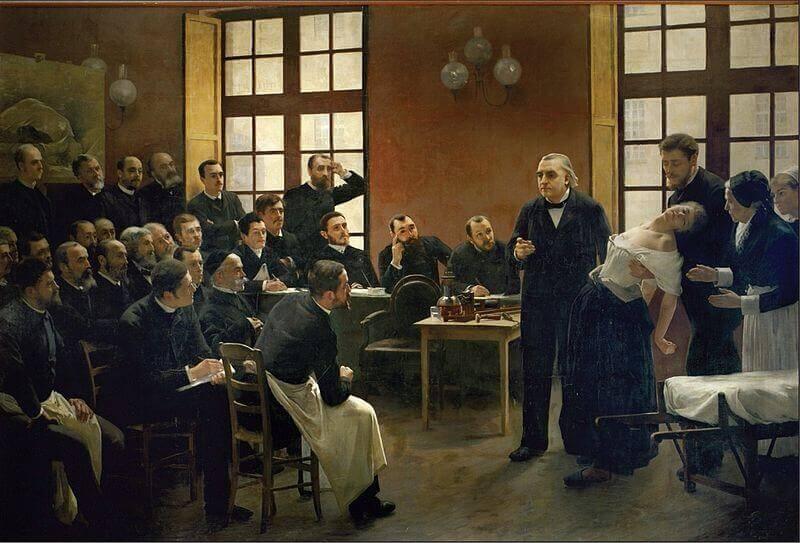 Charcot et l'hystérie