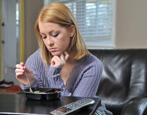 les troubles alimentaires sont un des signes d'une dépression dissimulée