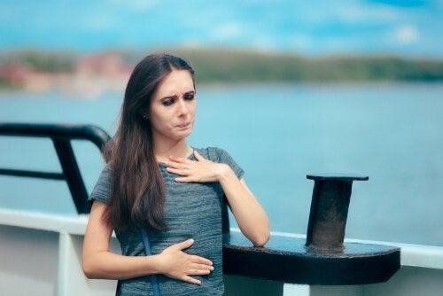 hydrophobie et nausées