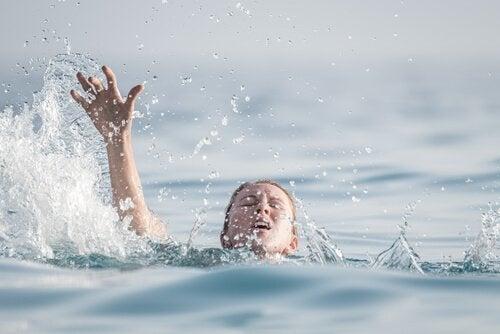 L'hydrophobie, ou la peur de l'eau