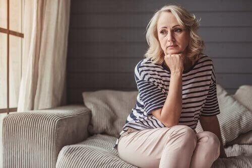 femme souffrant de dépression