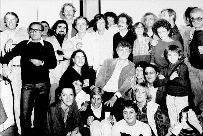 Franco Basaglia et ses patients