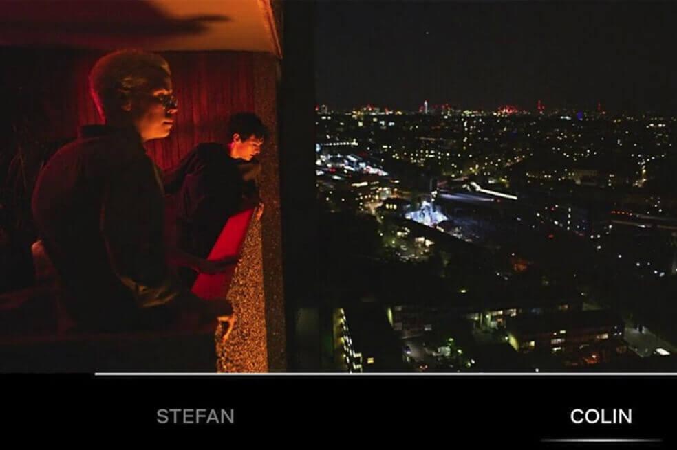 Stefan et Colin dans Bandersnatch