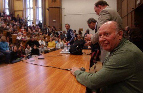Imre Kertész en conférence