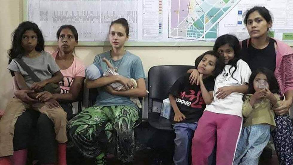 Patricia Aguilar dans un groupe abusif au Pérou