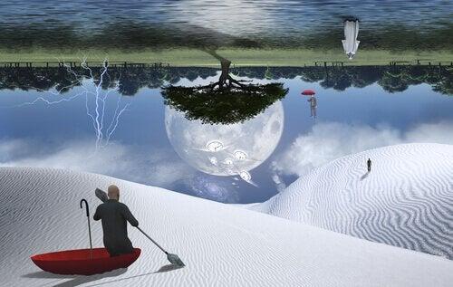 paysage onirique et hallucinations hypnagogiques
