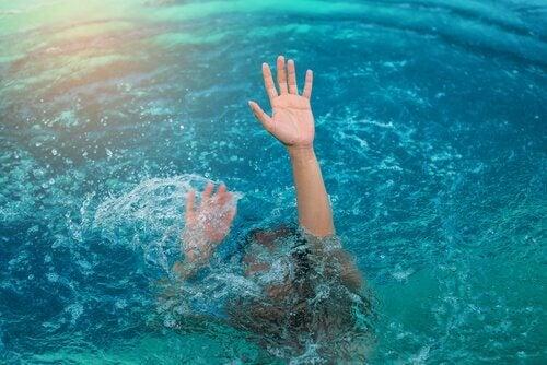 hydrophobie et noyade
