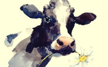 La vache dans le ravin, une belle morale