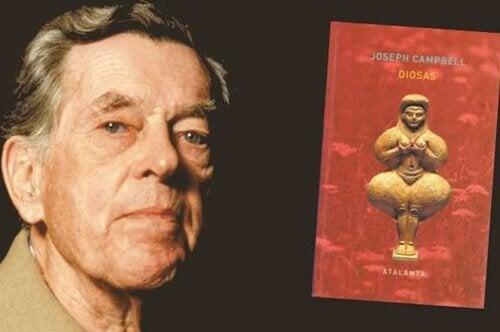 Joseph Campbell avec livre