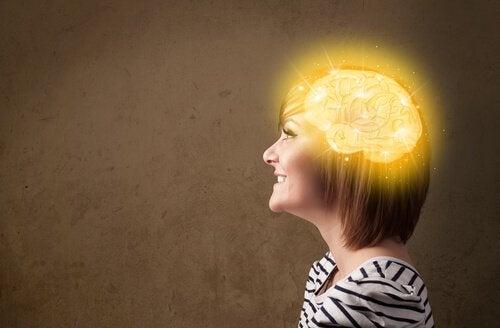 aire de bonheur dans le cerveau