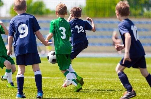 les sports d'équipe favorisent le développement personnel