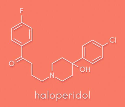 formule chimique halopéridol
