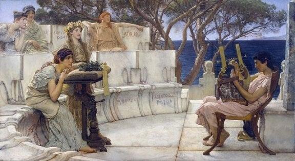 Sappho de Lesbos, biographie d'une femme réduite au silence