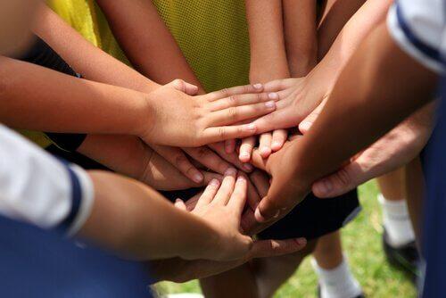 sports d'équipe et développement personnel