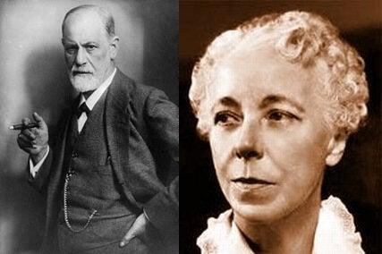 Karen Horney et Sigmund Freud