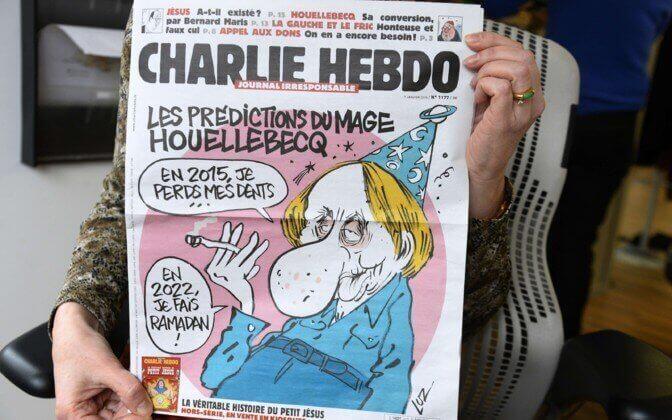 Michel Houellebecq et Charlie Hebdo