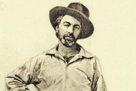 Walt Whitman jeune