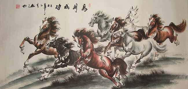 la fable chinoise du cheval perdu