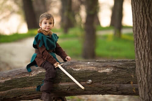 légendes pour les enfants : robin des bois