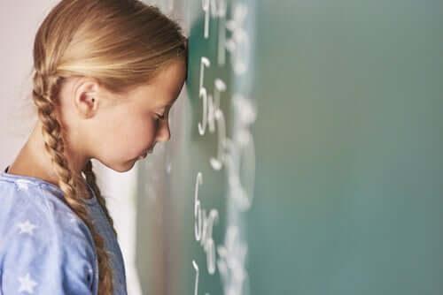 L'acalculie, l'incapacité à comprendre les nombres
