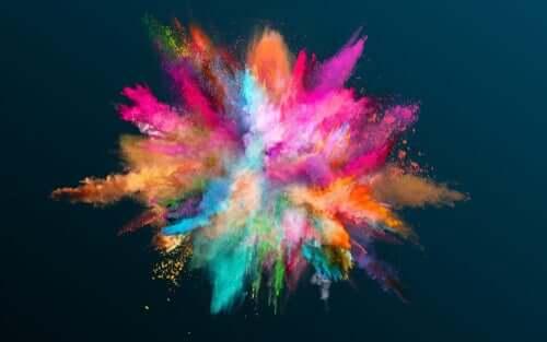 lien entre couleur et personnalité