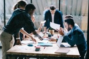 psychologie du travail et travail en groupe