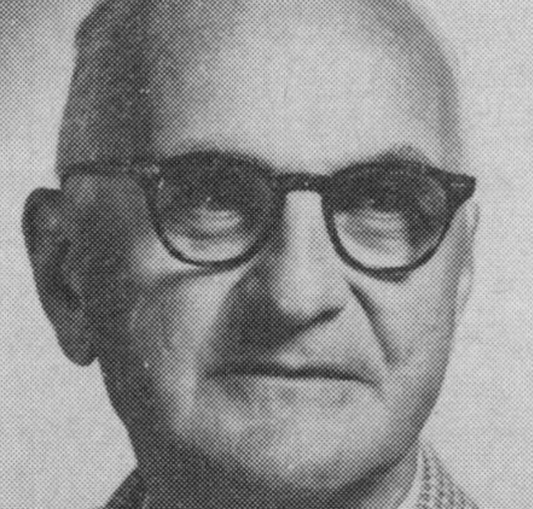 Un portrait de Donald Ewen Cameron, un des collaborateurs du projet MK Ultra