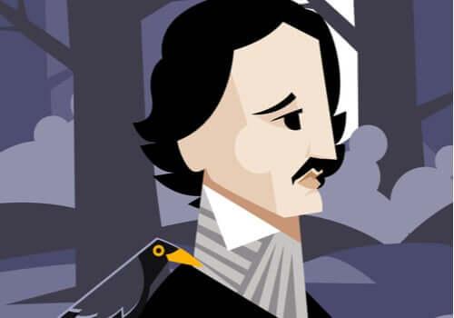 Edgar Allan Poe corbeau