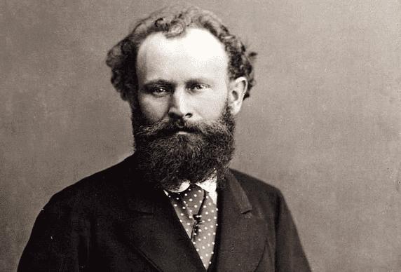 photographie d'Edouard Manet