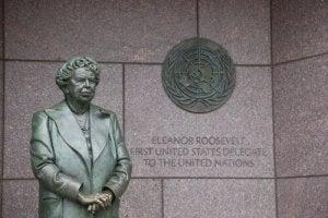 Une statue en hommage à Eleanor Roosevelt