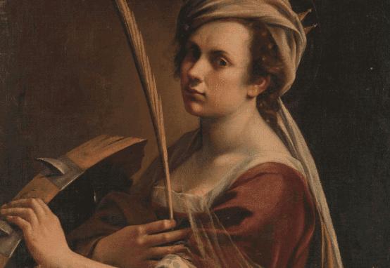 portait d'Artemisia Gentileschi