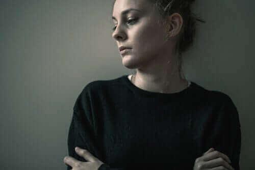 Une femme souffrant du trouble de la personnalité limite