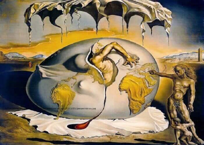 tableau de Dali