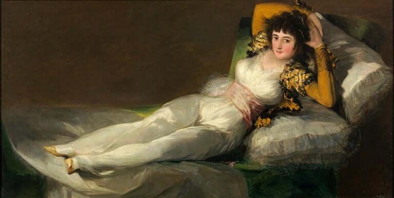 Le tableau La Maja vêtue de Francisco de Goya