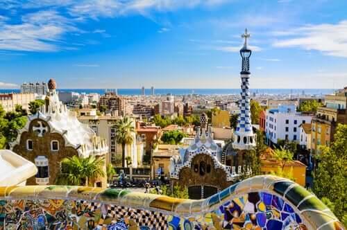 Le Parc Guell d'Antoni Gaudí