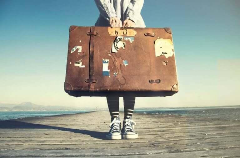 Personne prête à la vie à l'étranger