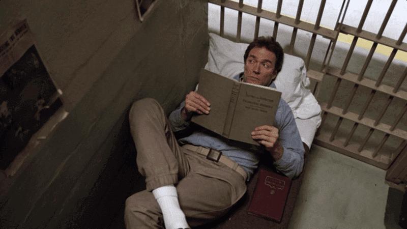Scène du film L'Evadé d'Alcatraz