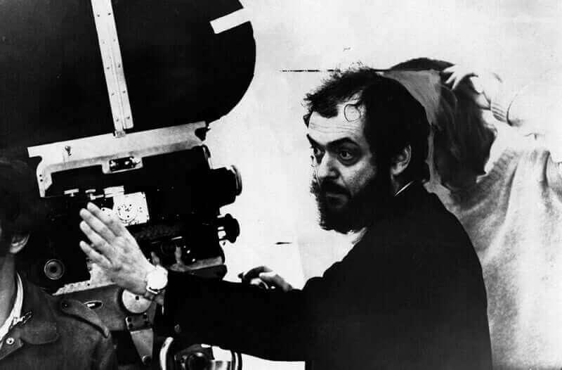 Stanley Kubrick en tournage