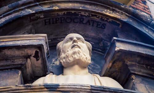 Hippocrate fait partie de l'histoire de la psychothérapie