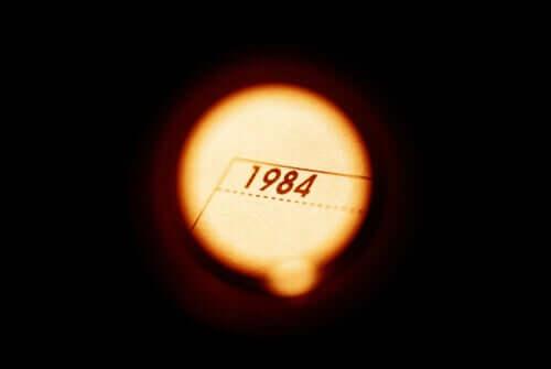 Un halo de lumière sur 1984, oeuvre de George Orwell