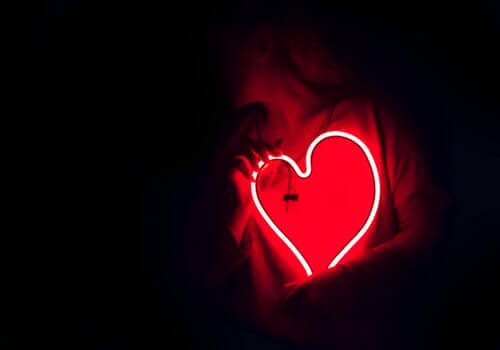 Un cœur illuminé
