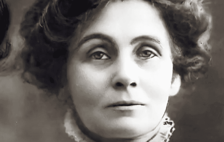 Un portrait d'Emmeline Pankhurst