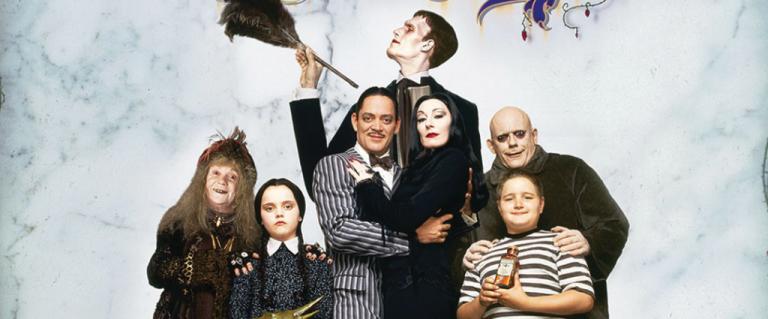 La famille Addams, la beauté du macabre