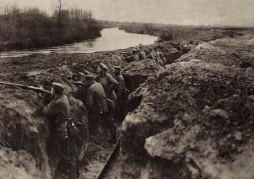 Des soldats de la Première Guerre mondiale
