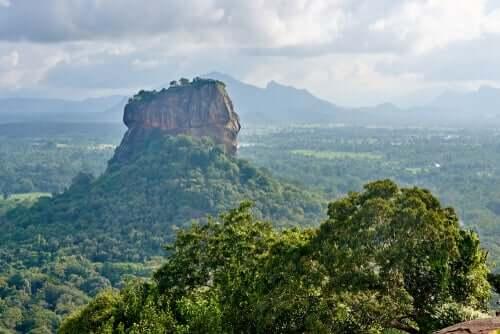 Les montagnes du Sri Lanka