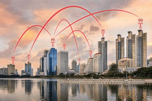 Des buildings en réseaux 5G