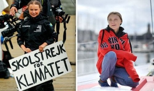 Des photos de Greta Thunberg