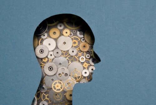 Un esprit plein de mécanismes qui représente l'intelligence multifocale