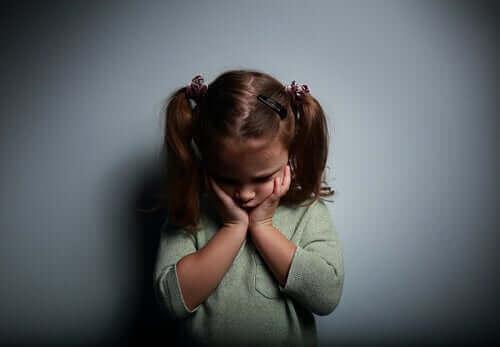 La dépression infantile chez une fillette